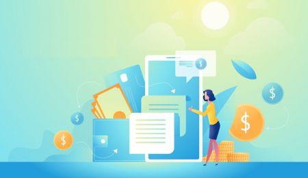 ExpertOption میں اکاؤنٹ کیسے کھولیں اور پیسے کیسے جمع کریں۔