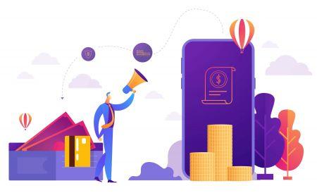 اکاؤنٹ کیسے کھولیں اور ExpertOption پر پیسے نکالیں۔